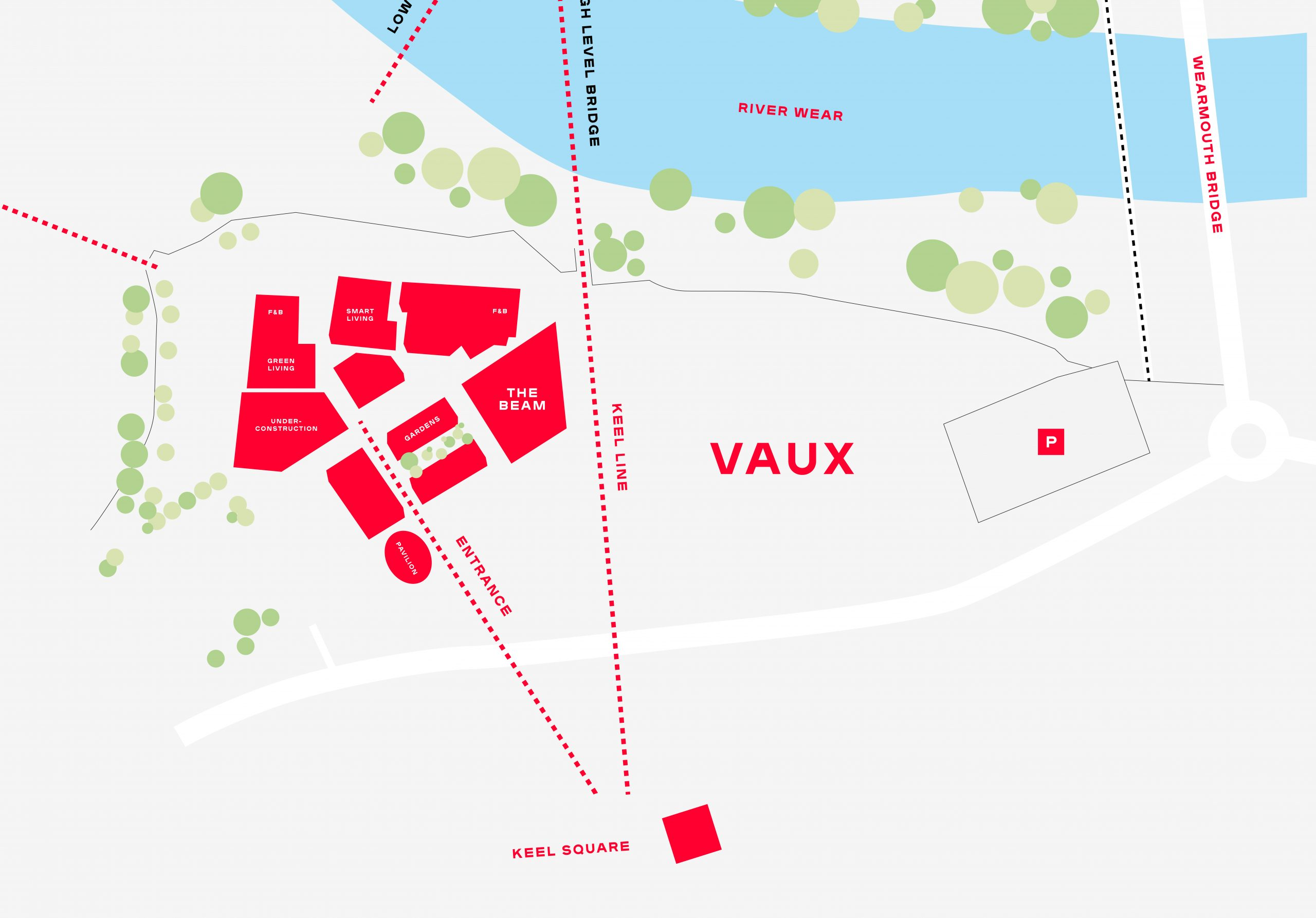 Sunderland Expo map